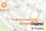 Схема проезда до компании Saint Daniel в Москве