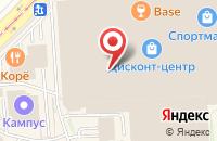 Схема проезда до компании Изомед в Москве