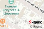 Схема проезда до компании Багратион в Москве