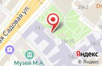 Схема проезда до компании Общество Психологов Силовых Структур в Москве