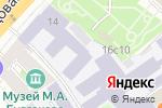 Схема проезда до компании Военный университет Министерства Обороны РФ в Москве