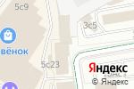 Схема проезда до компании ВЕТТЕСТ в Москве