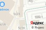 Схема проезда до компании Мир ЛВЛ в Москве