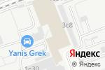 Схема проезда до компании Альфа-Сети в Москве
