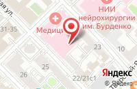 Схема проезда до компании Нью Вижн в Москве