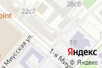 Схема проезда до компании ТрайДент в Москве