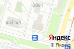 Схема проезда до компании Аист в Москве