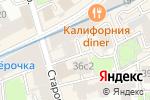 Схема проезда до компании Faro Hostel в Москве