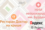 Схема проезда до компании Шерна в Москве