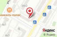 Схема проезда до компании Техстройимпорт в Москве