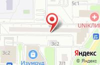 Схема проезда до компании Строительное Товарищество в Москве