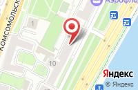 Схема проезда до компании М-Сканрус в Москве