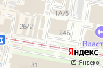 Схема проезда до компании Нега в Туле