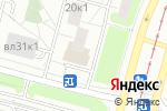 Схема проезда до компании Софи Арт в Москве