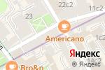 Схема проезда до компании Radical Сhik в Москве
