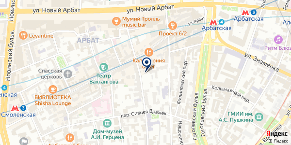 Omelchenko Gallery на карте Москве