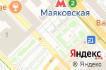 Схема проезда до компании Первая Пироговая Мануфактура в Москве