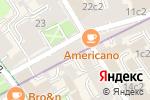 Схема проезда до компании Галеев-Галерея в Москве