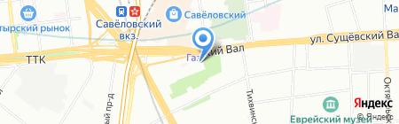 Юмвис на карте Москвы