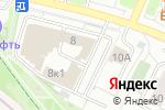 Схема проезда до компании Кураж в Москве