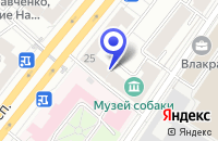 Схема проезда до компании МЕБЕЛЬНЫЙ МАГАЗИН САЛОН ИНТЕРЬЕРА в Москве