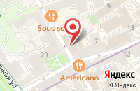 Схема проезда до компании Интерфиш в Москве