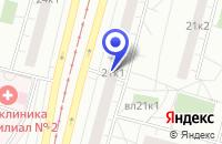 Схема проезда до компании АРХИТЕКТУРНО-ПРОЕКТНАЯ ФИРМА ИНЖСТРОЙПРОЕКТ в Москве