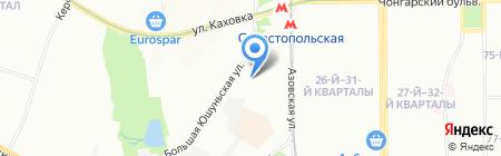 Севастополь на карте Москвы