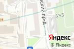 Схема проезда до компании Большой праздник в Москве