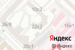 Схема проезда до компании Mirta Clinic в Москве