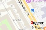 Схема проезда до компании Авиценна Фарма в Москве