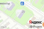 Схема проезда до компании Гагаринский в Москве