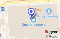 Схема проезда до компании ЭВЕРНЕТ в Москве