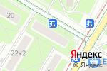 Схема проезда до компании Кастелант в Москве