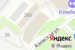Схема проезда до компании UPS в Москве
