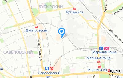 Местоположение на карте пункта техосмотра по адресу г Москва, ул Складочная, д 1 стр 6