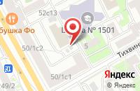 Схема проезда до компании Ск Алкар в Москве
