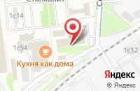 Схема проезда до компании Экола М в Москве