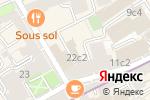 Схема проезда до компании Asta Realty Group в Москве