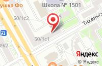 Схема проезда до компании Ладор в Москве