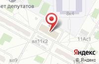 Схема проезда до компании Базисмонолит в Москве