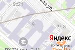 Схема проезда до компании Правовая помощь и защита в Москве