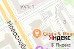 Схема проезда до компании Ника Ломбард в Москве