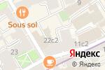 Схема проезда до компании МосГорПраздник в Москве