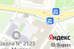 Схема проезда до компании Банк ВТБ в Москве