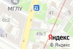 Схема проезда до компании Kontato в Москве