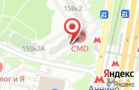 Схема проезда до компании Аурум в Москве