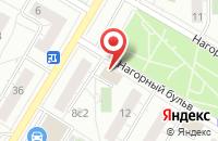 Схема проезда до компании Комстайл в Москве