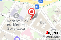 Схема проезда до компании Информационное Агентство «Рб-Фм» в Москве
