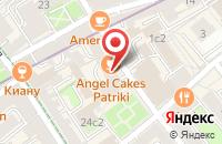 Схема проезда до компании Юнитек Строй в Москве